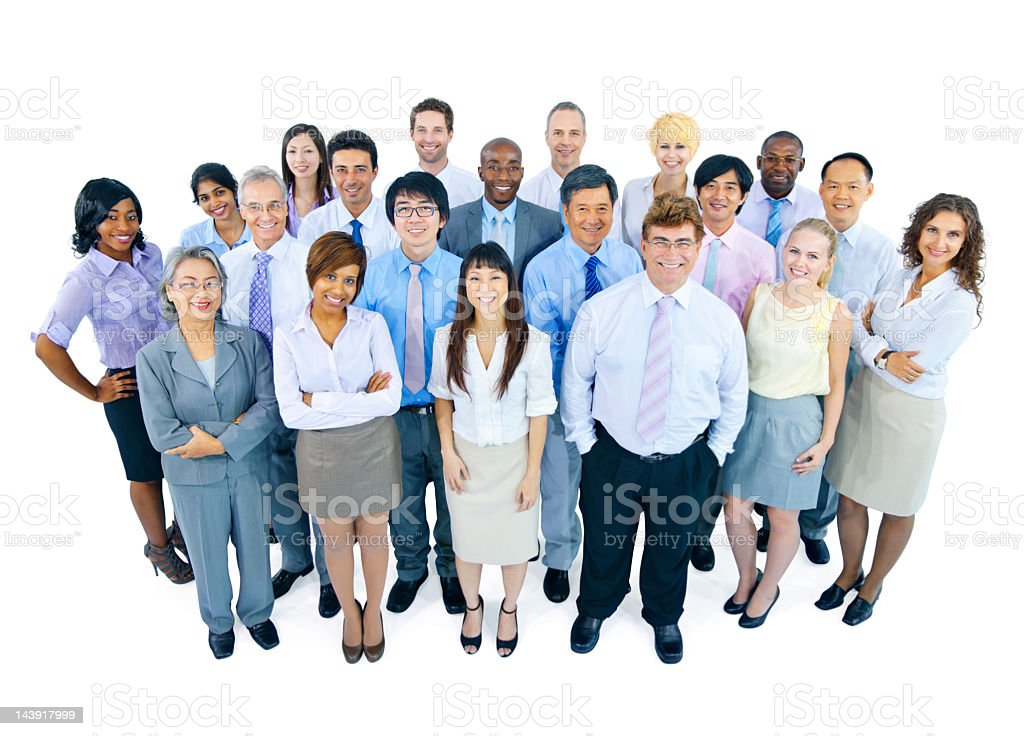 International Business Team stock photo