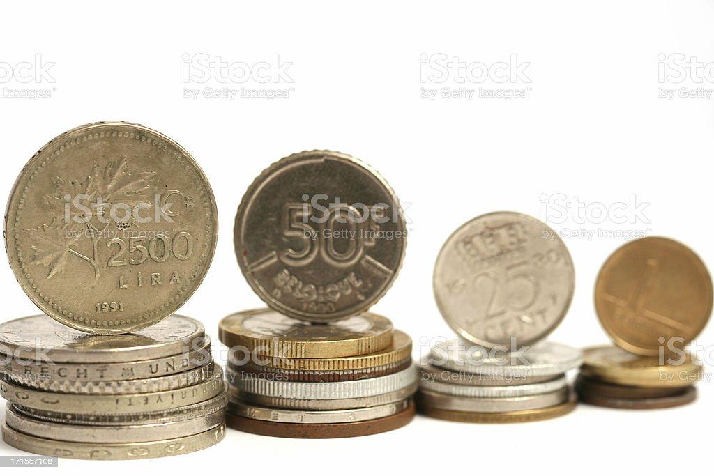 International coins #6 royalty-free stock photo