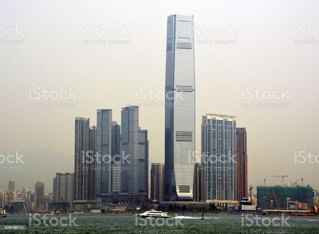 International Commerce Centre,  Hong Kong stock photo