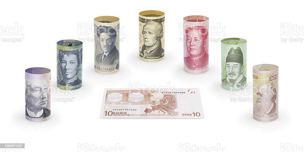 International Conference of Money royalty-free stock photo