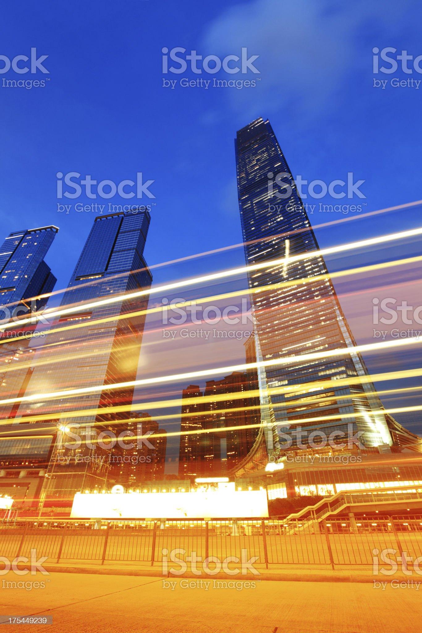 International Convention Center Hong Kong royalty-free stock photo