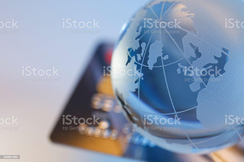 international credit card stock photo