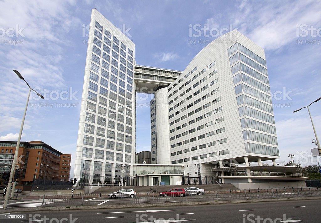 International Criminal Court stock photo