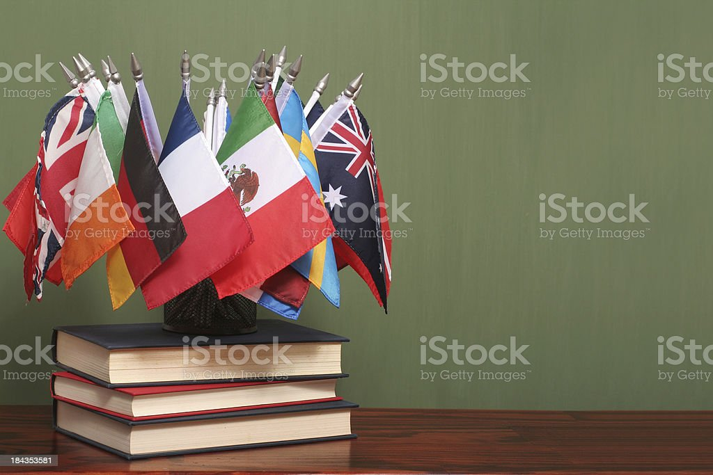International Education royalty-free stock photo