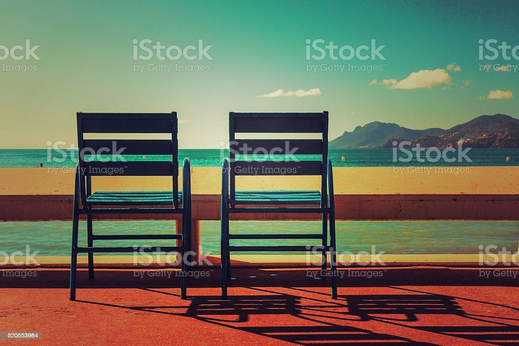 International Film Festival - French Riviera stock photo