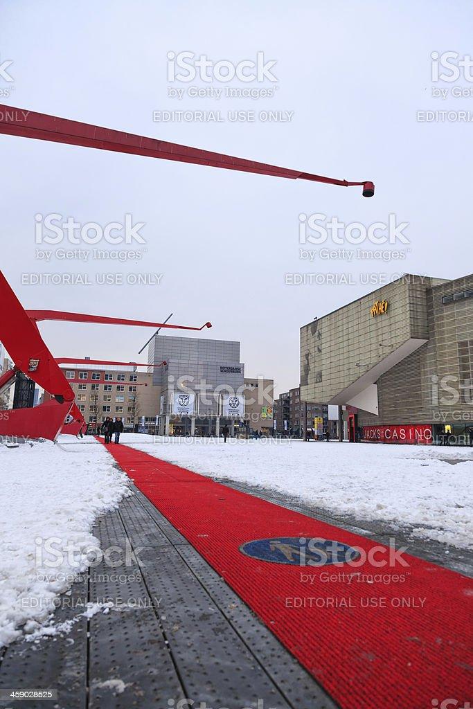 International Film Festival Rotterdam royalty-free stock photo