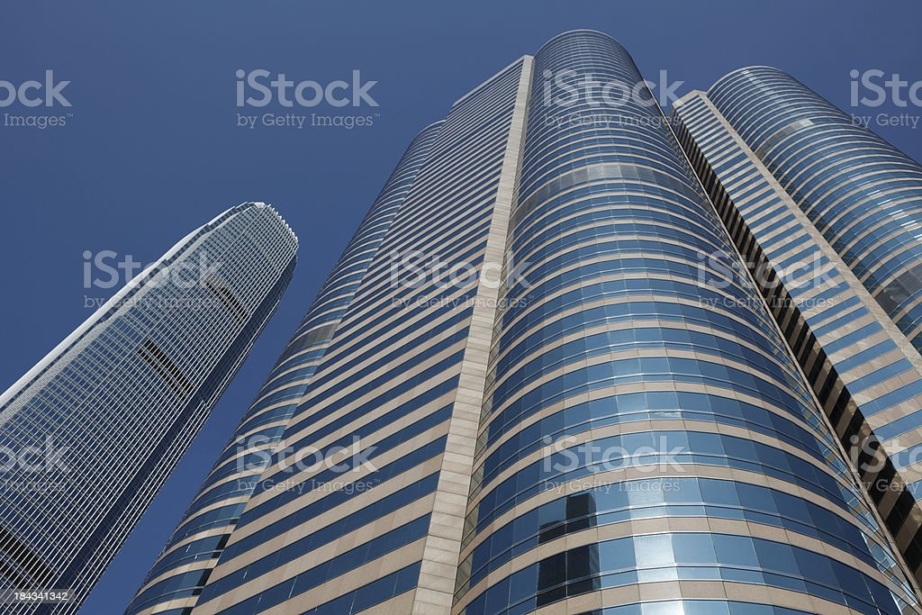 International Finance Centre and Hong Kong Stock Exchange stock photo