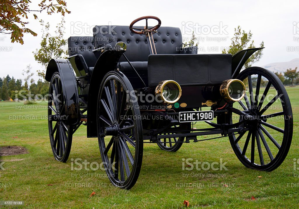 International Harvester Autowagon IHC from 1908 royalty-free stock photo