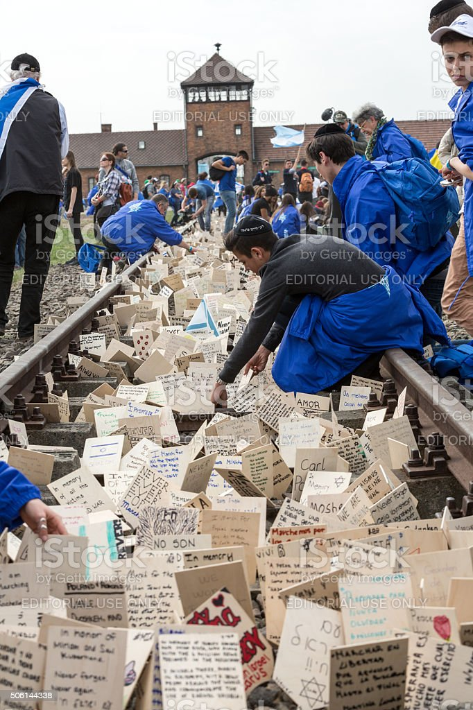 International Holocaust Remembrance Day stock photo
