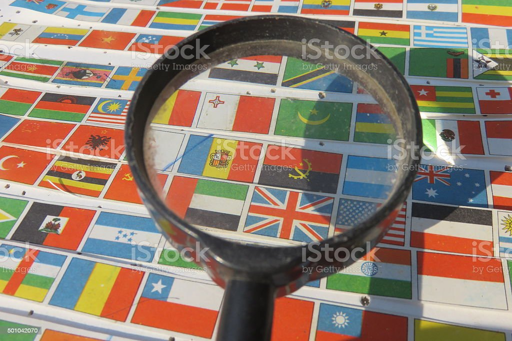 international investigation concept stock photo