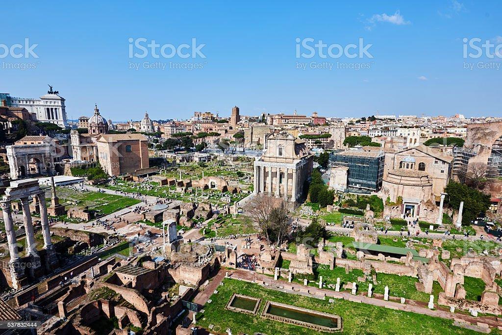 international landmark in Italy stock photo