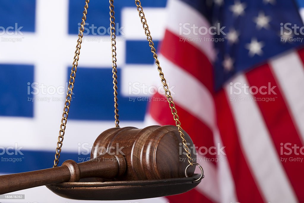 International law royalty-free stock photo