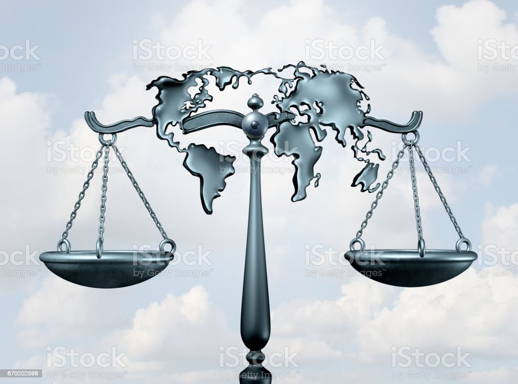 International Law stock photo