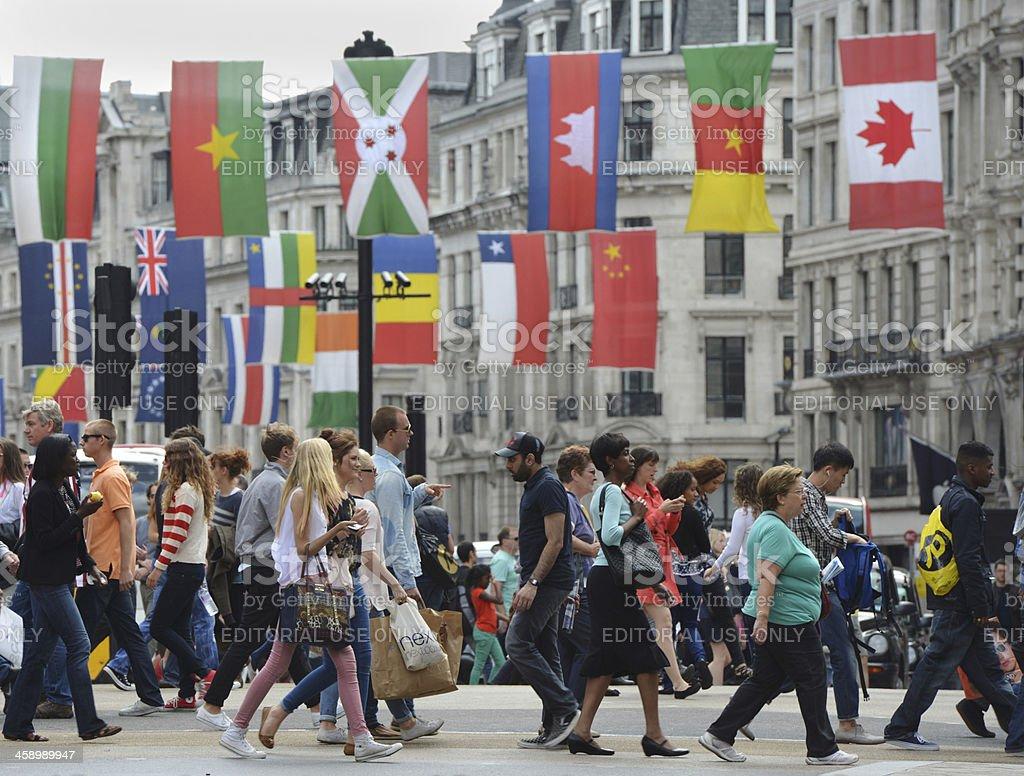 International London royalty-free stock photo