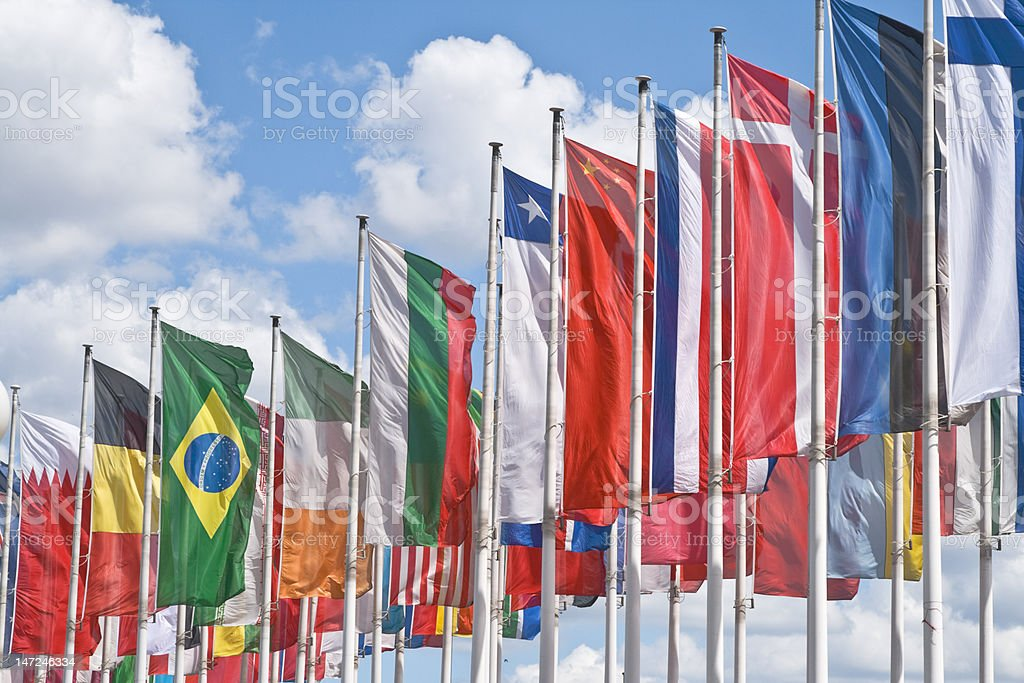 International meeting royalty-free stock photo