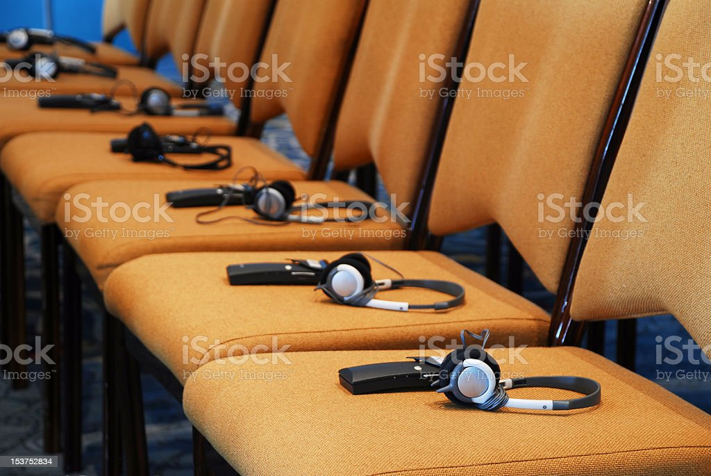 International Meeting stock photo