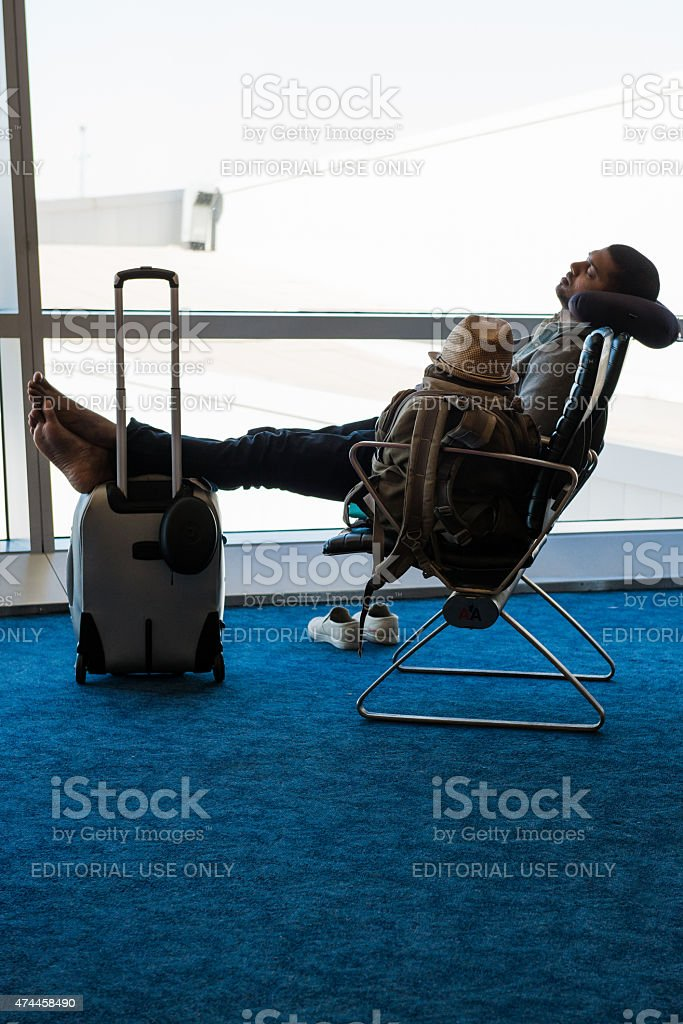 JFK International stock photo