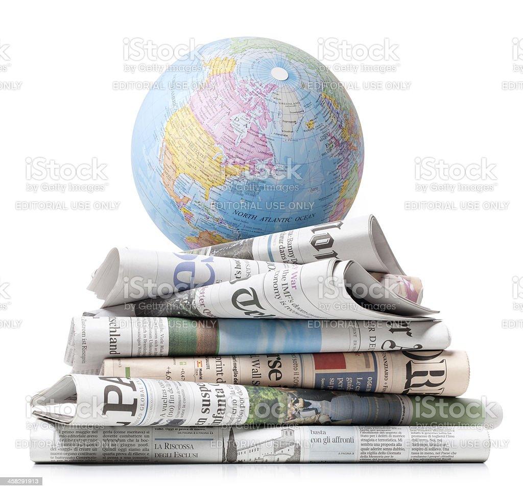 International press royalty-free stock photo