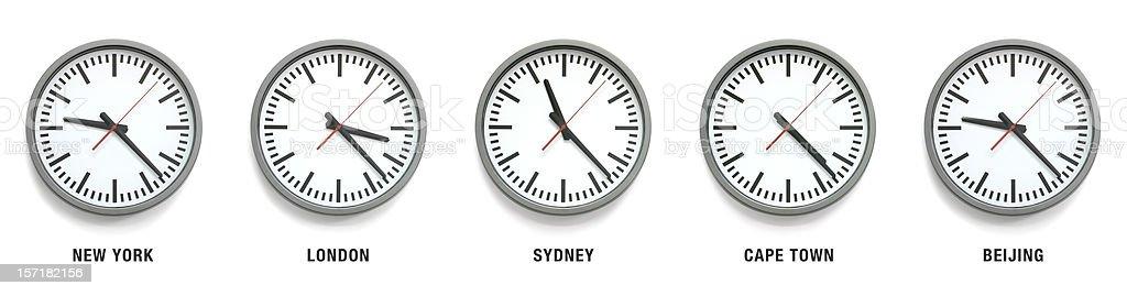 International Time stock photo