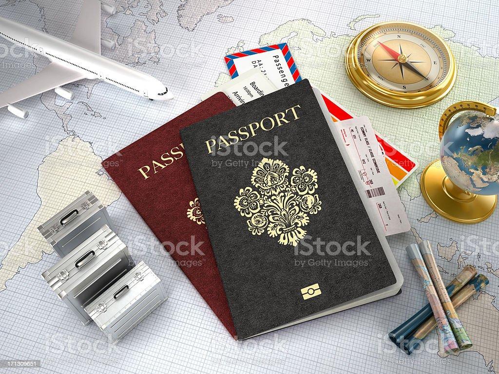 International travel royalty-free stock photo