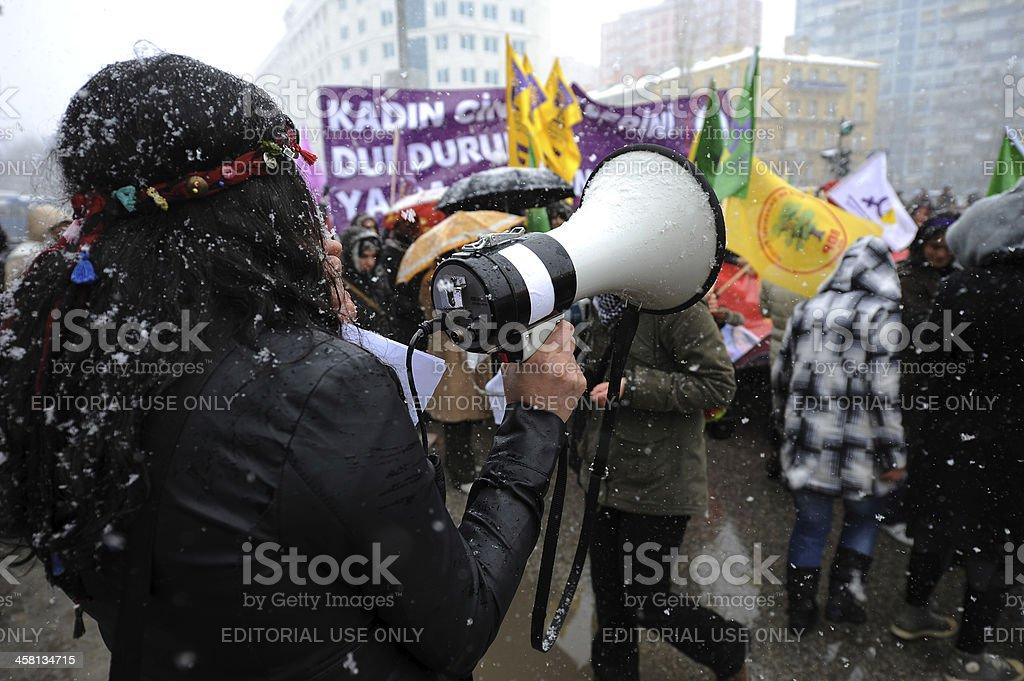 International Women's Day stock photo