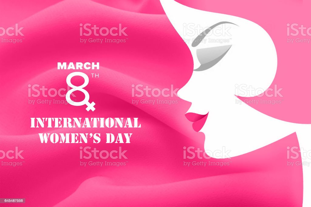 International Women's day stock photo