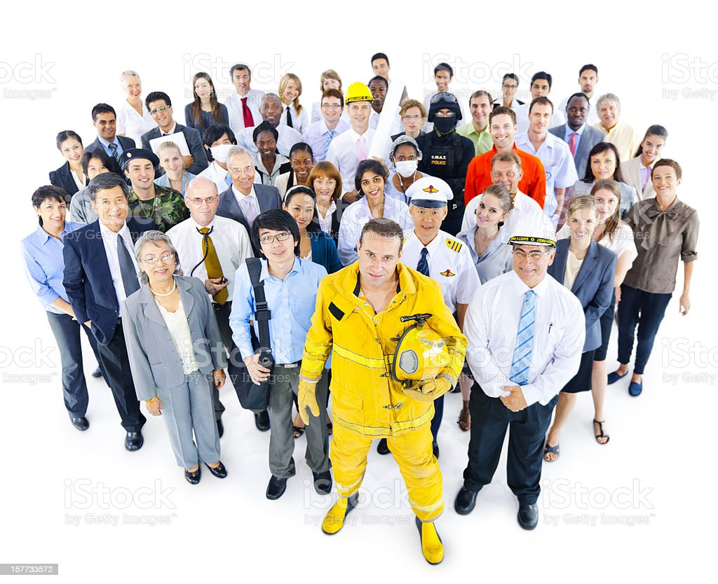 International Workers With Different Occupations Stock Photo More Pictures Of Adult Istock