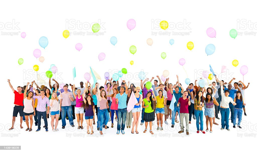 International youth carnival royalty-free stock photo
