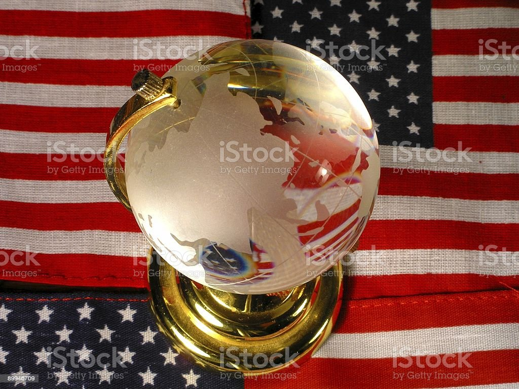 Internationally American stock photo