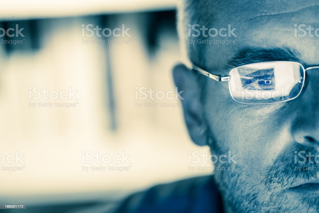 Internet addiction stock photo