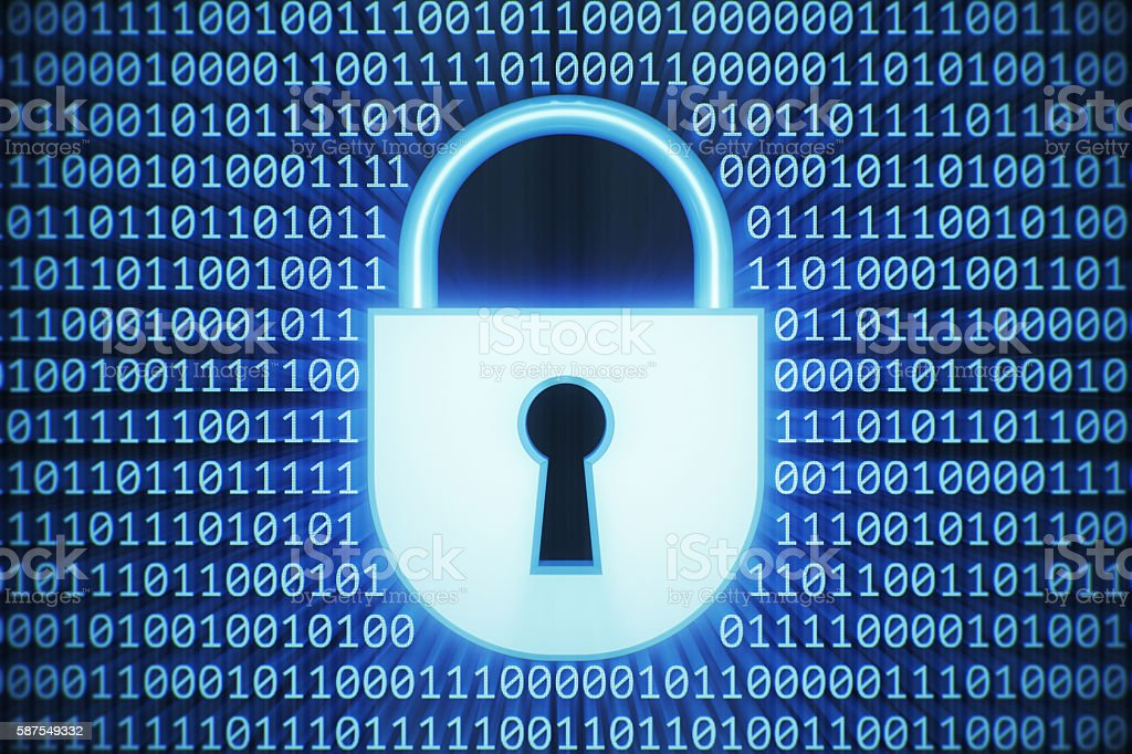 Internet And Data Security stock photo