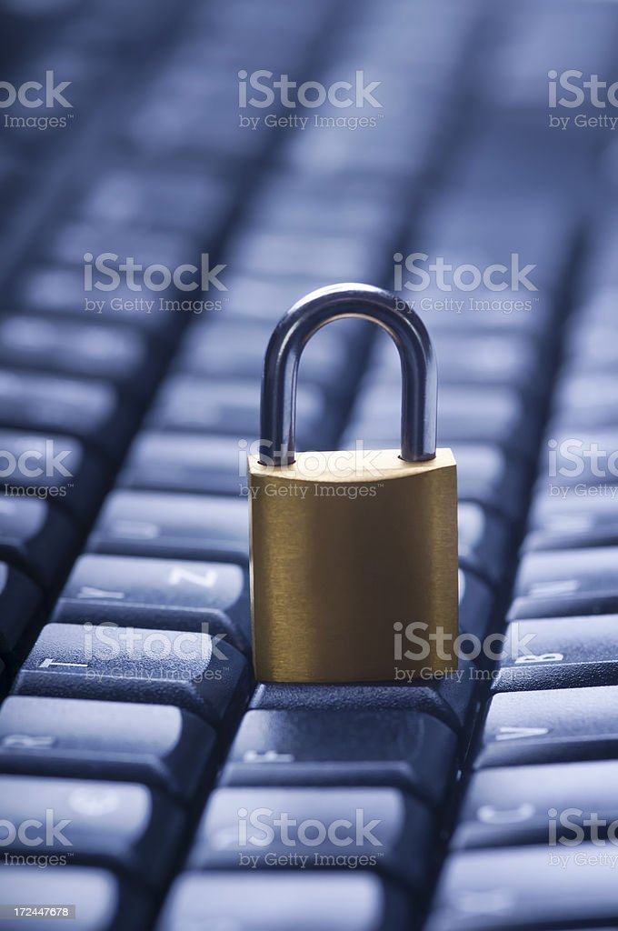 Internet and network security concept. royalty-free stock photo