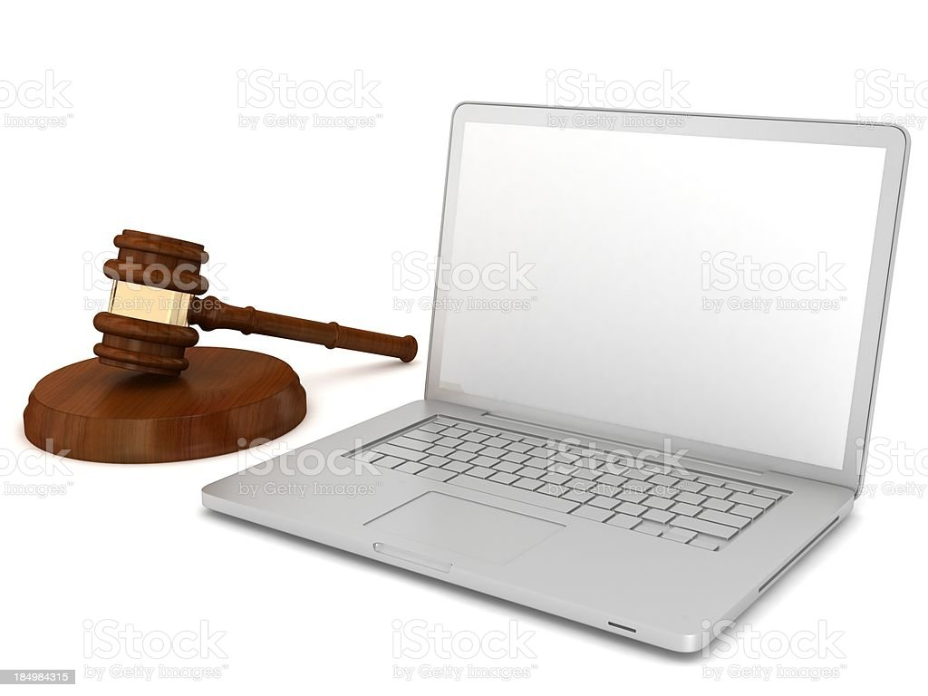 Internet Auction royalty-free stock photo