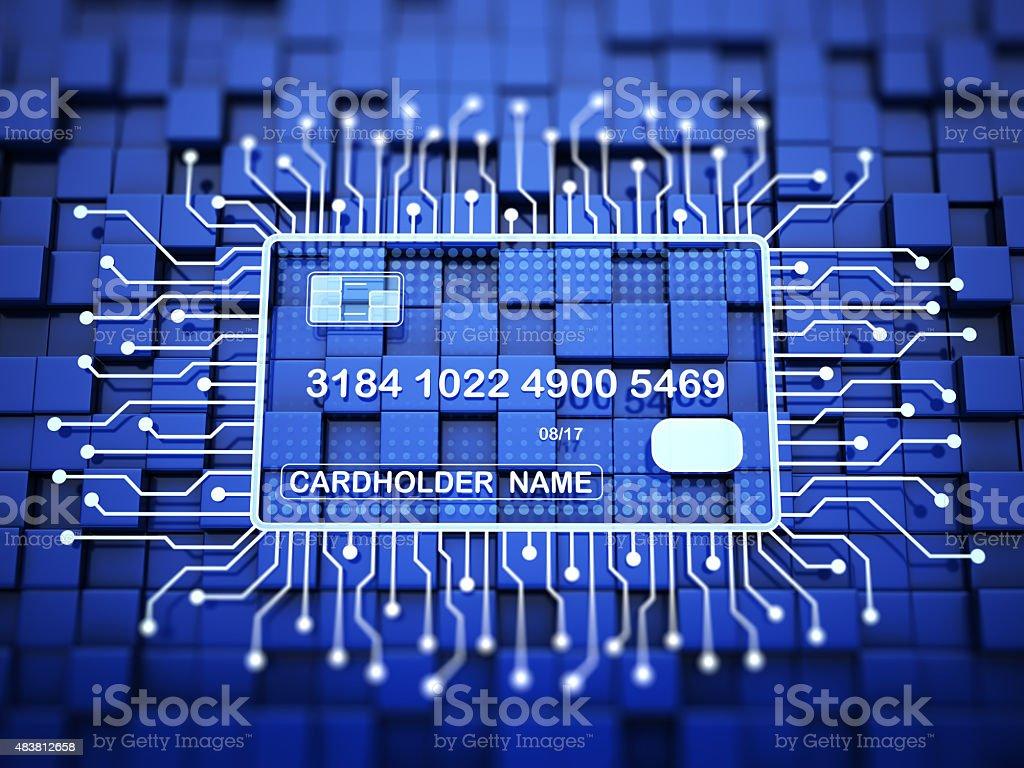Internet Banking Concept stock photo