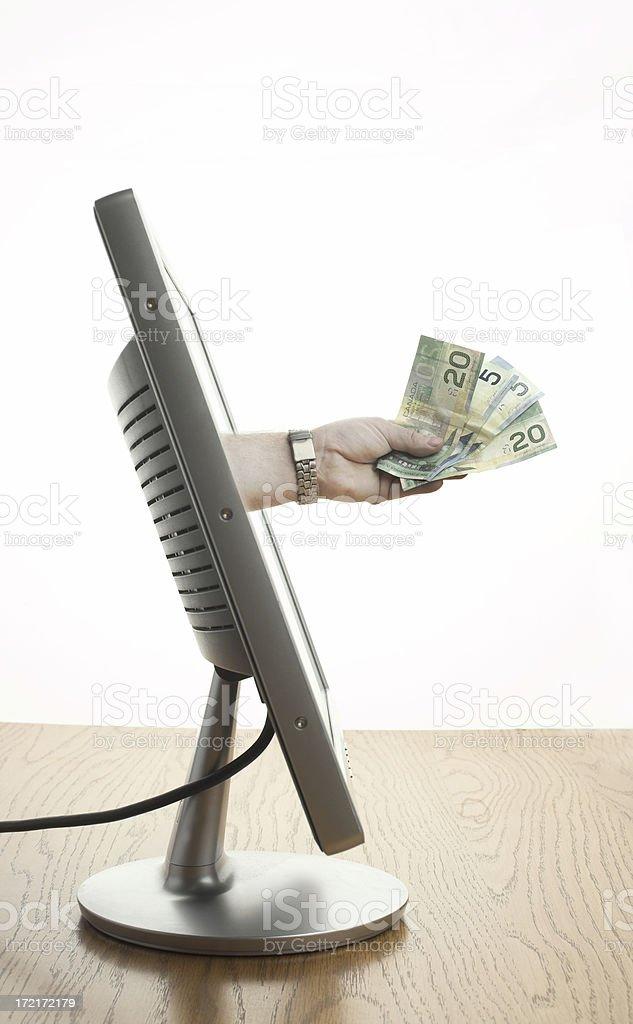 Internet Banking stock photo