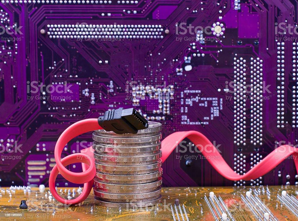 Internet banking safety royalty-free stock photo