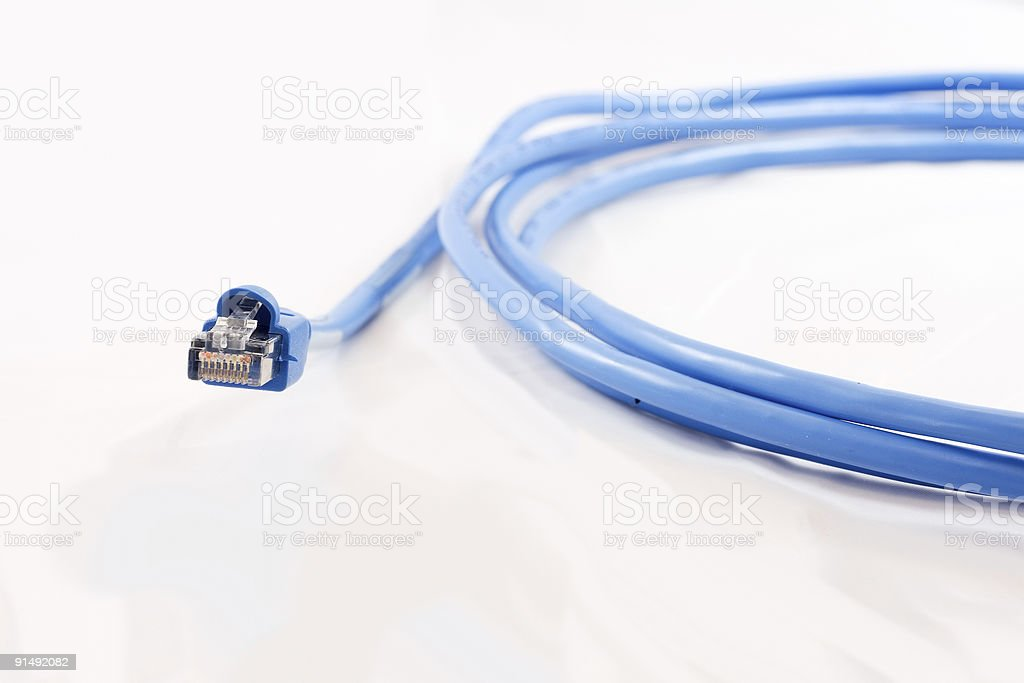 Internet Cable royalty-free stock photo