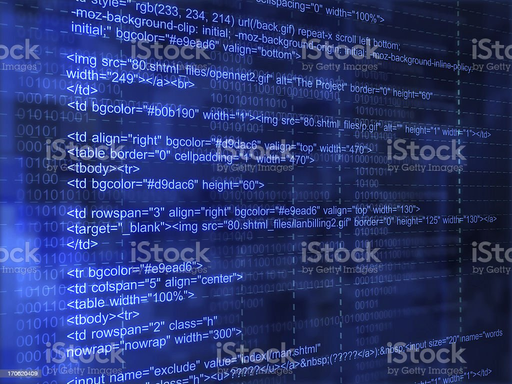 internet code royalty-free stock photo