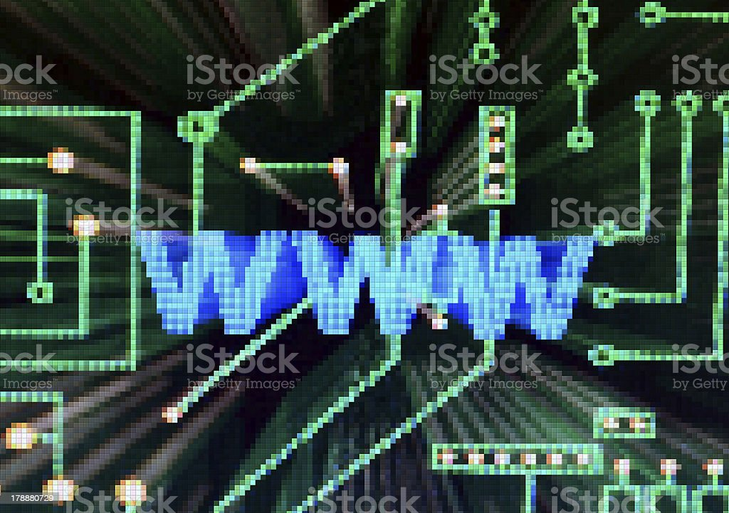 Internet concept royalty-free stock photo