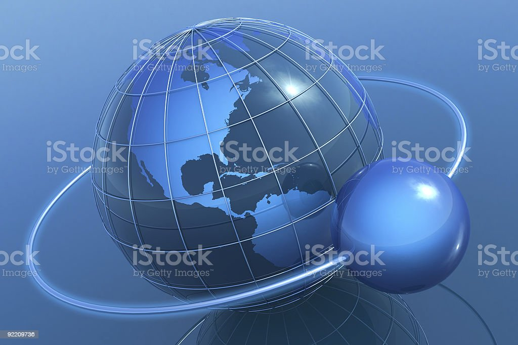 Internet concpet royalty-free stock photo