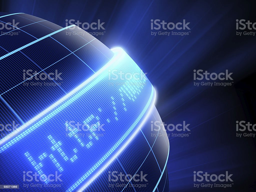 Internet connection stock photo