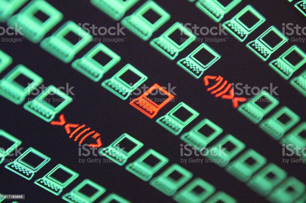 Internet Data Theft stock photo