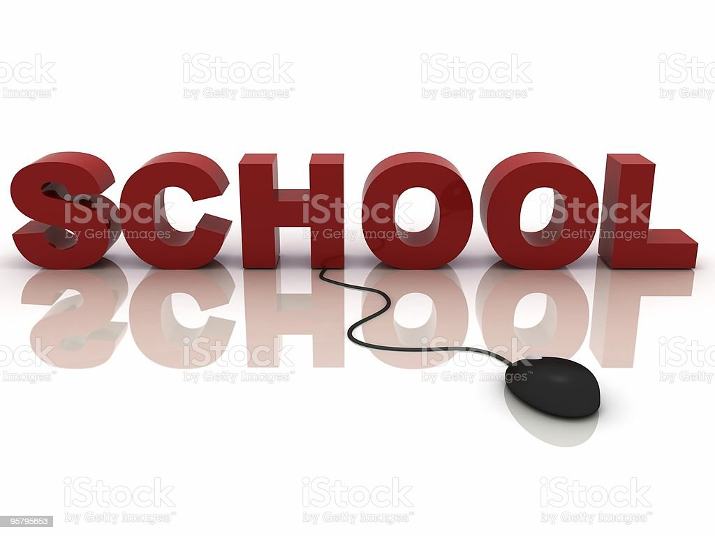 Internet Education royalty-free stock photo