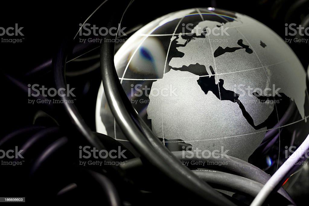 Internet: European royalty-free stock photo