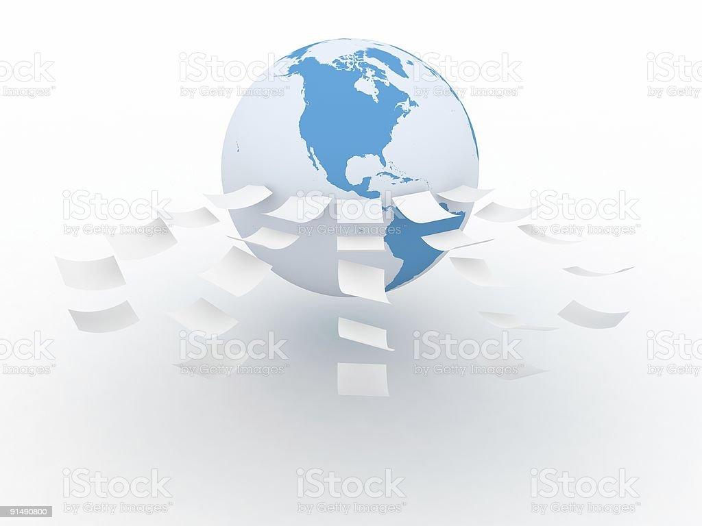 Internet Information royalty-free stock photo