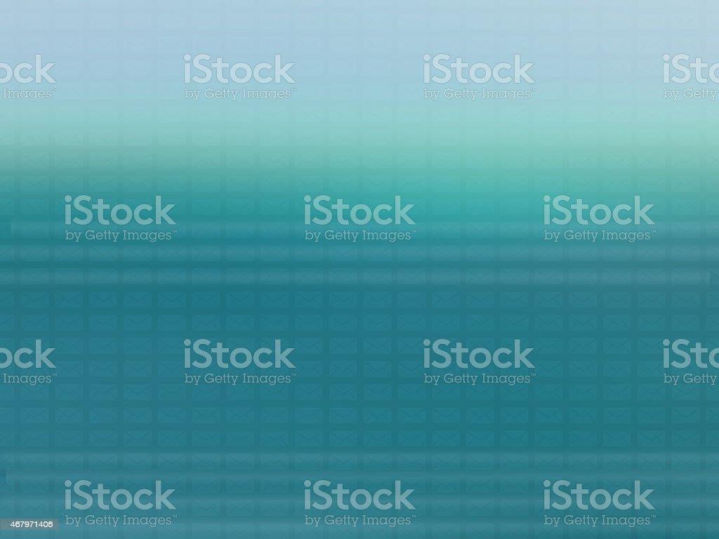 Internet mail envelop pattern on blurry background stock photo