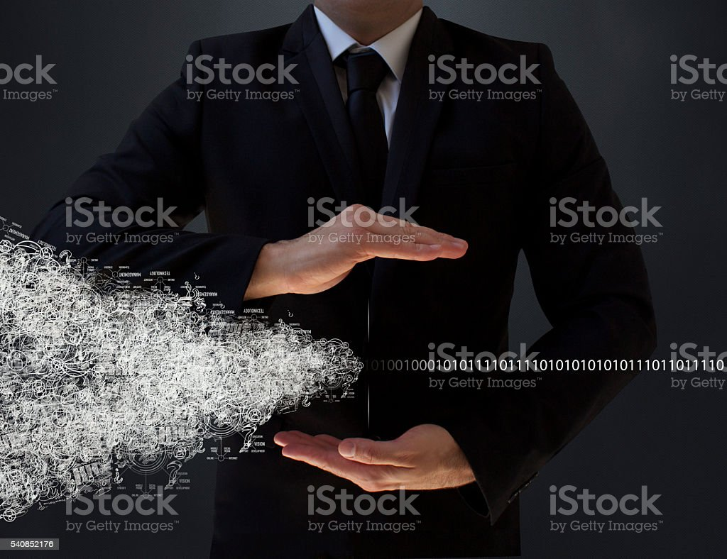 Internet: New Information Revolution. stock photo