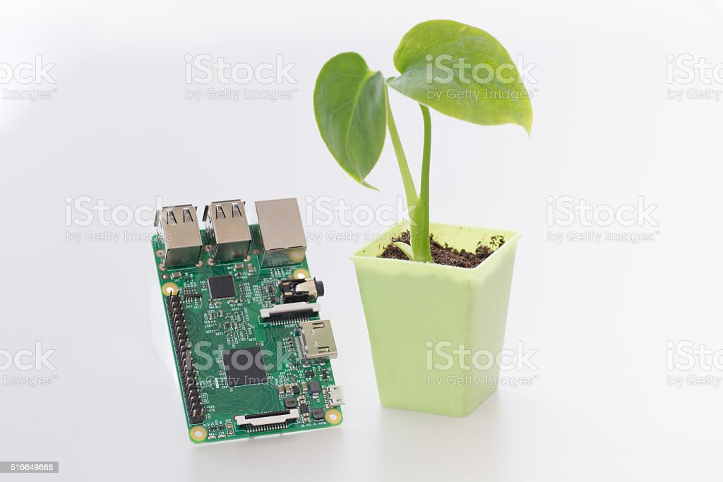 internet of agricultural things stock photo