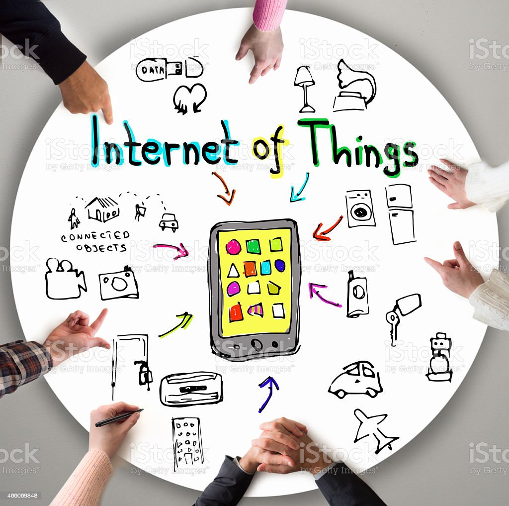 Internet of Things stock photo