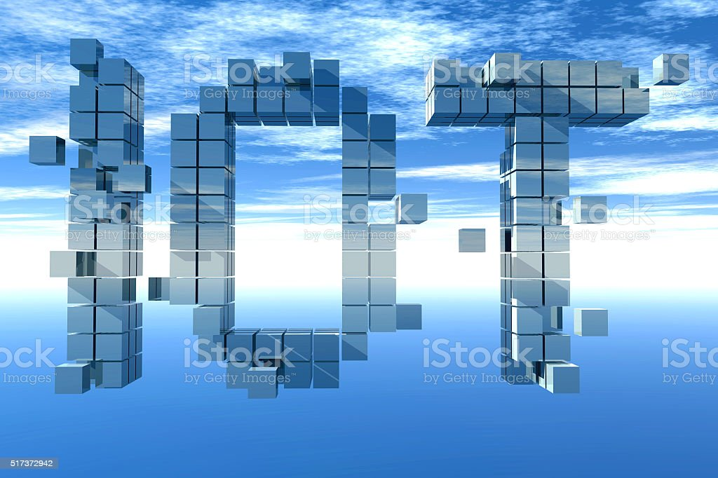 IOT, Internet of things. stock photo